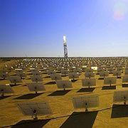 Naheliegend und fern zugleich: Strom aus der Wüste (hier in Israel)