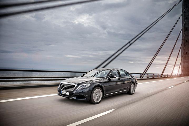 Mercedes S500 Plugin-Hybrid: Leiser Gleiten für gut Betuchte