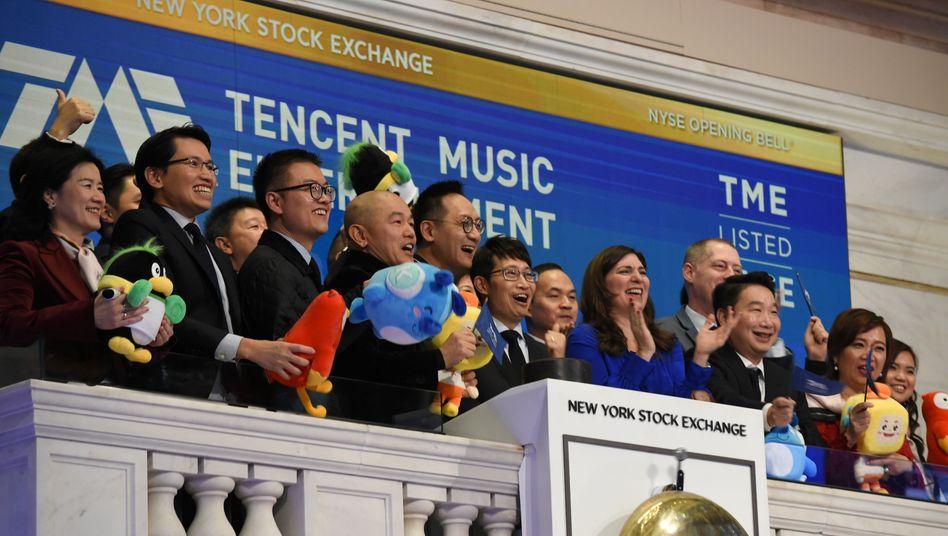 Tencent-Börsengang 2018 in New York: Der Tech-Konzern plant offenbar eine erneute Milliardenemission noch in diesem Jahr