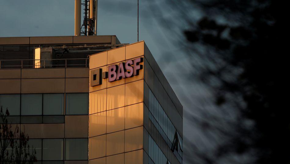 Chemie pur: BASF-Gebäude bei Paris.