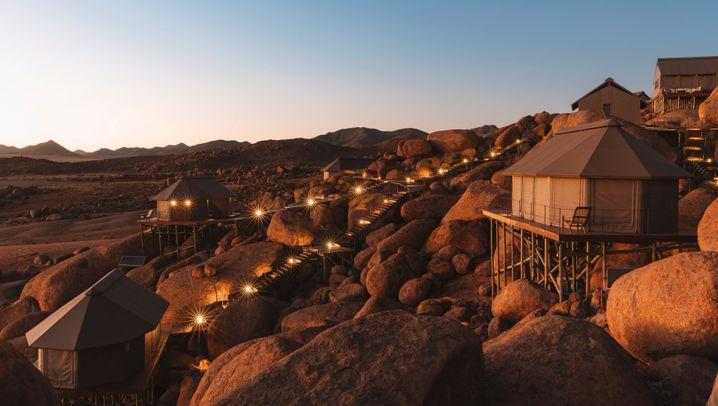 Sonop Lodge in Namibia: Einfach glamourös