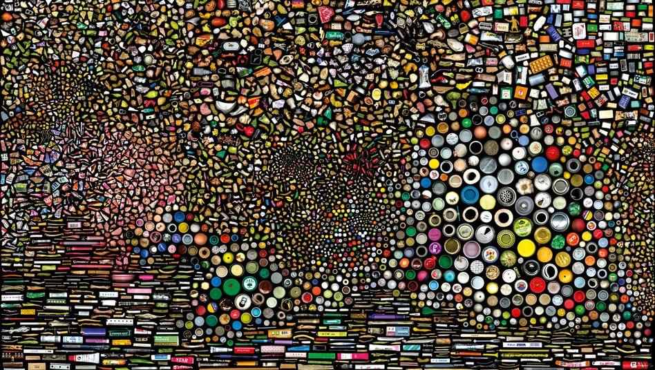 """Die Arbeit """"My Things No. 5"""" des chinesischen Künstlers Hung Hao"""
