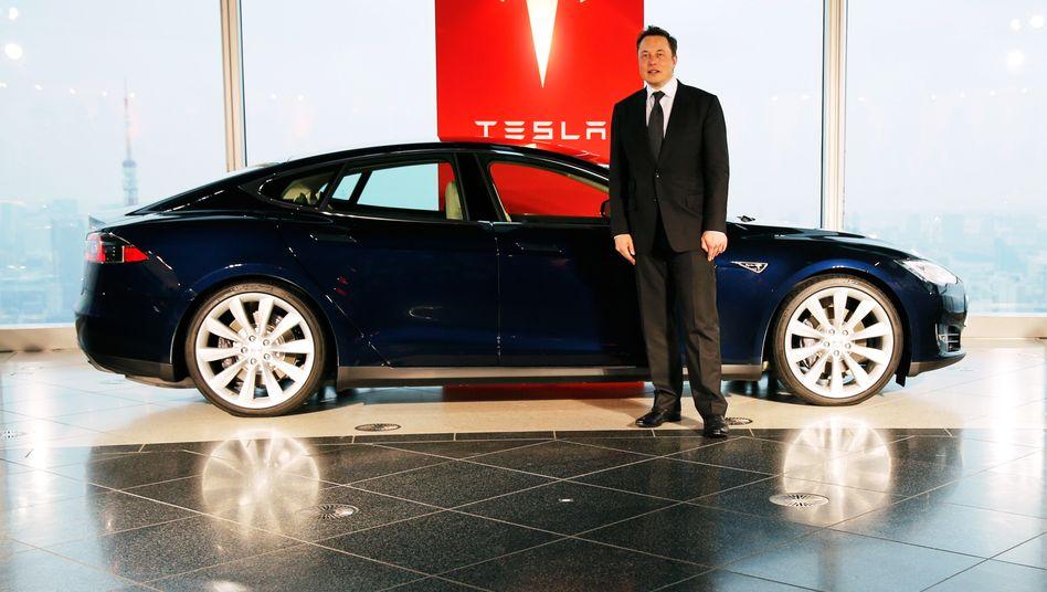 """Tesla-Chef Musk: Nachfrage nach Batterien """"verrückt"""""""