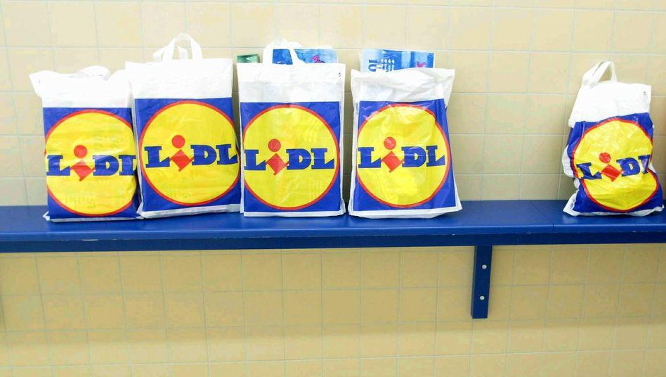 Nicht mehr ganz so billig: Produkte des Discounters Lidl