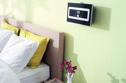 Schöner aufwachen: Mit dem Philips-Gerät lassen sich bis zu fünf Musikempfänger in unterschiedlichen Räumen verbinden