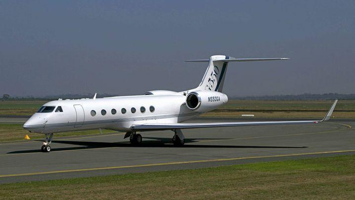 Luxus-Jet verkauft: So luxuriös flogen Steinhoff-Manager
