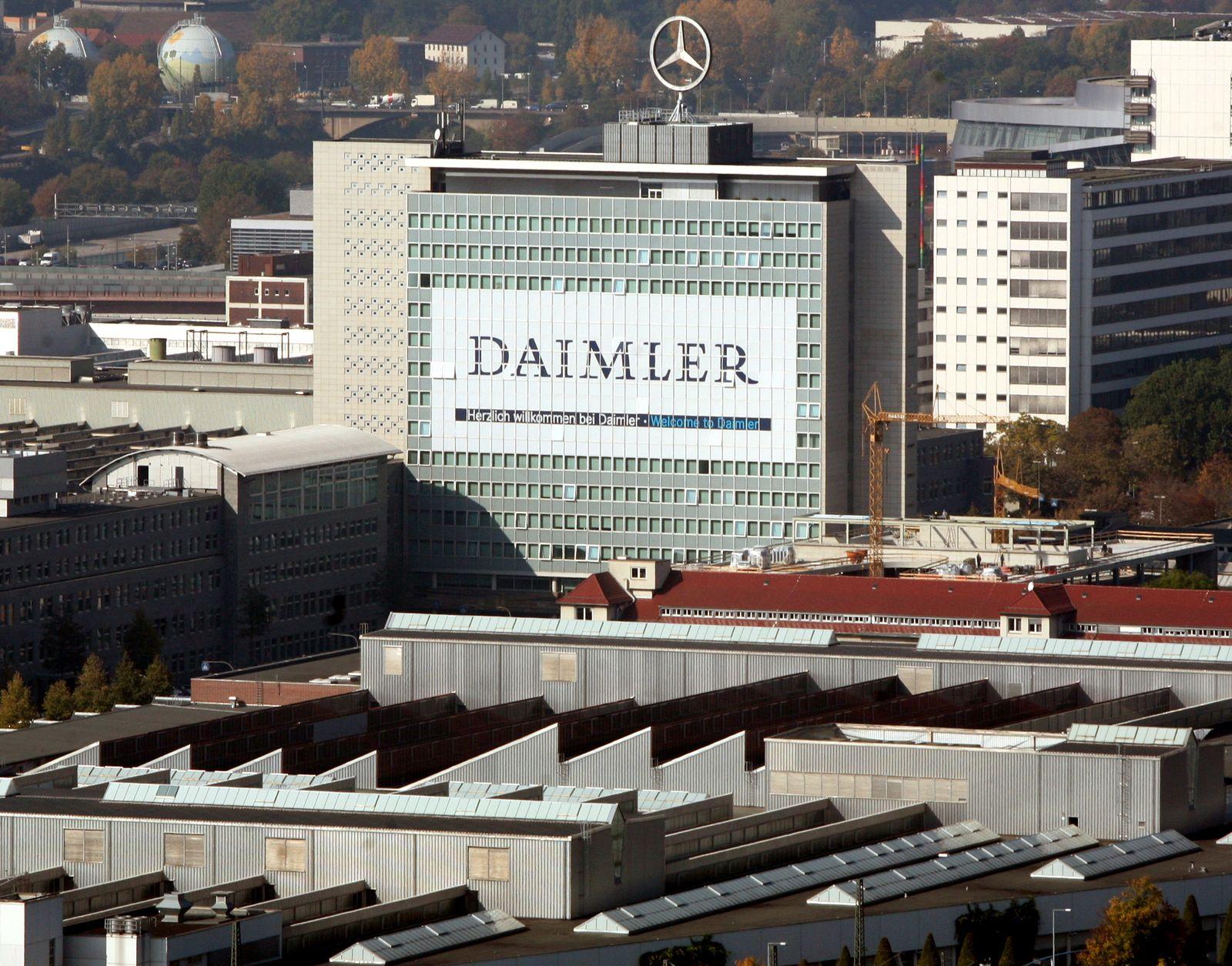 Daimler / Untertürkheim / Zentrale