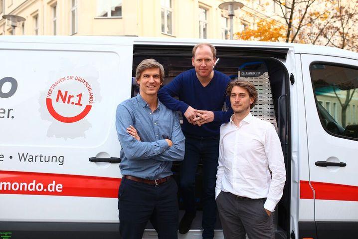 Philipp Pausder, Florian Tetzlaff, Kristofer Fichtner (v.l.n.r.)