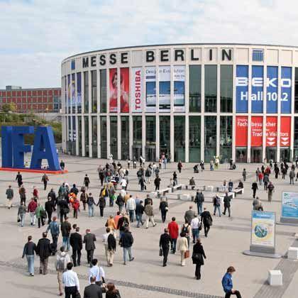 Treffpunkt für Technikfreaks: Die Ifa in Berlin gilt bei der Consumer-Elektronik inzwischen als Leitmesse