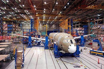 Immer noch nicht ausgeliefert: Der Dreamliner 787 kostet Boeing viel Geld und stürzt den Konzern im dritten Quartal überraschend und massiv in die roten Zahlen