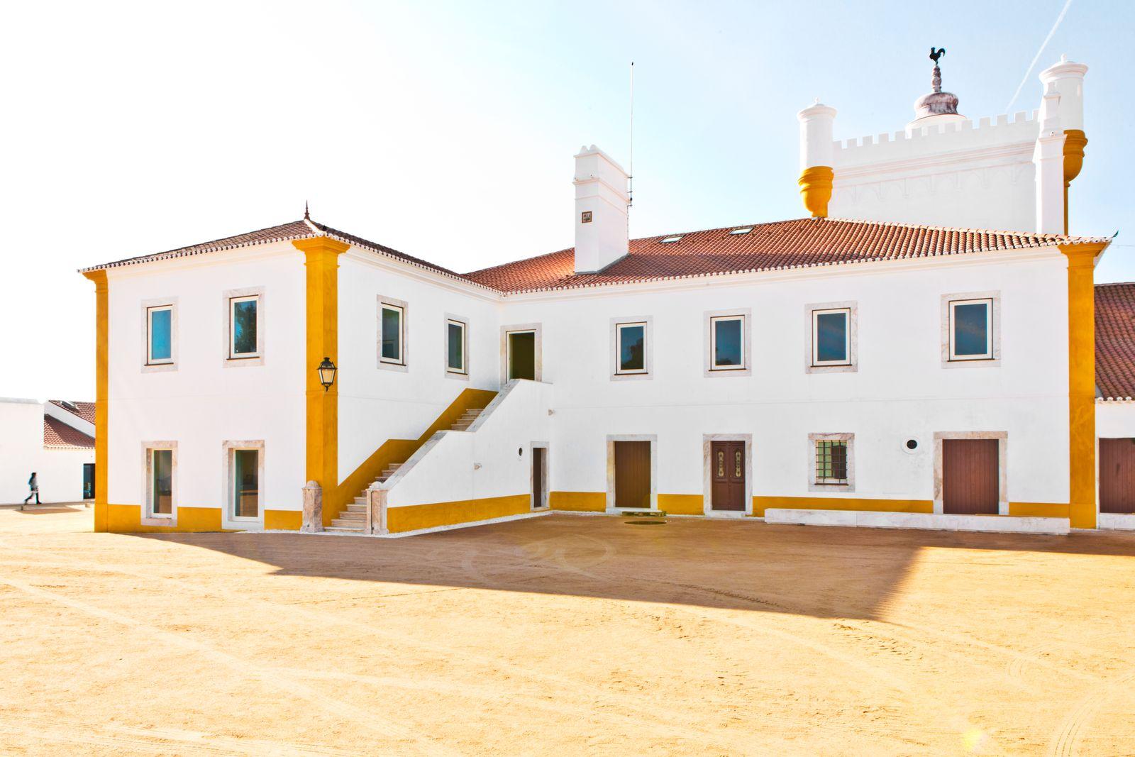 Das Designhotel Torre di Palma im Alentejo in Portugal