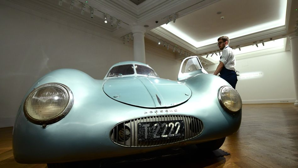 Sotheby`s-Auktion für Porsche Typ 64 abgebrochen