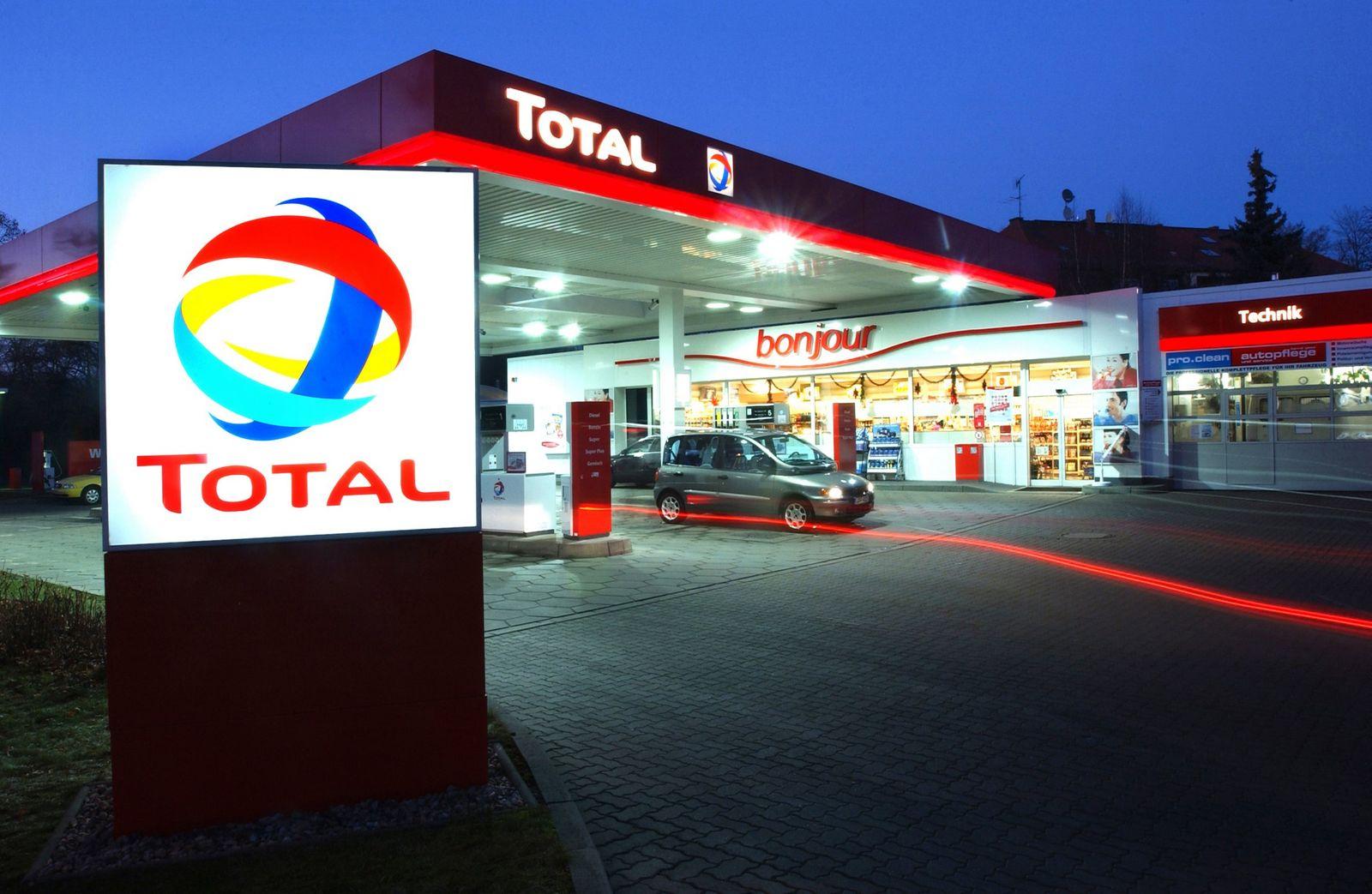 TOTAL Tankstelle in Leipzig