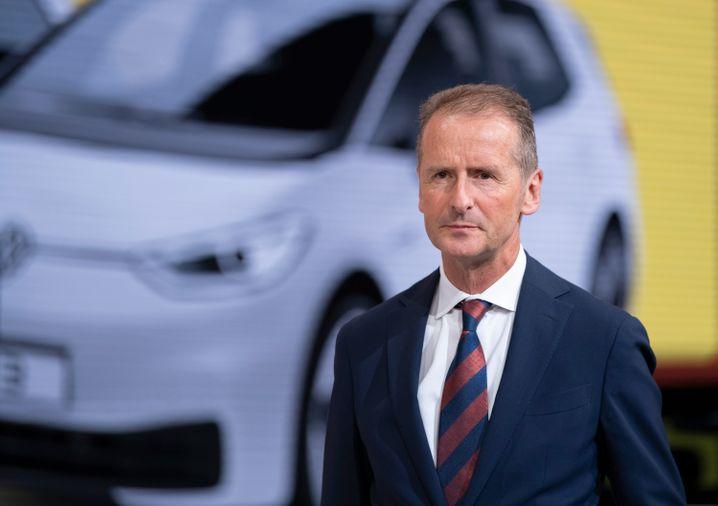 Volkswagen-Konzernchef Herbert Diess (Bild Archiv)