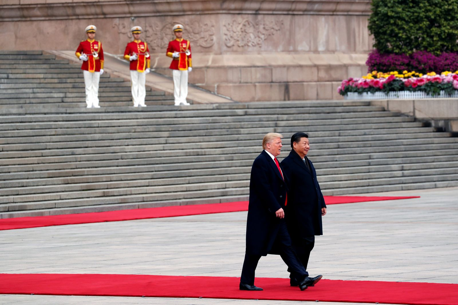 Donald Trump/ Xi Jinping