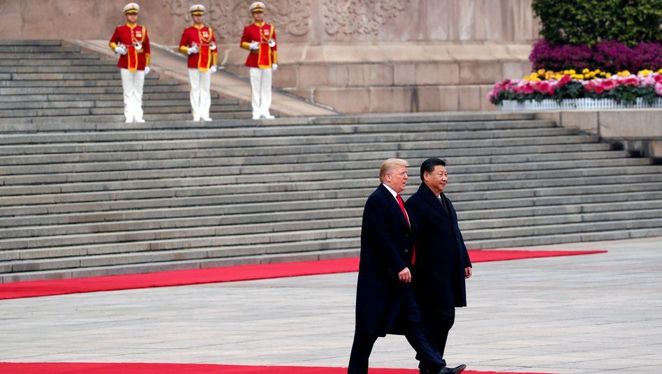 Seit zwei Jahren im Clinch: US-Präsident Donald Trump und Chinas Machthaber Xi Jinping.