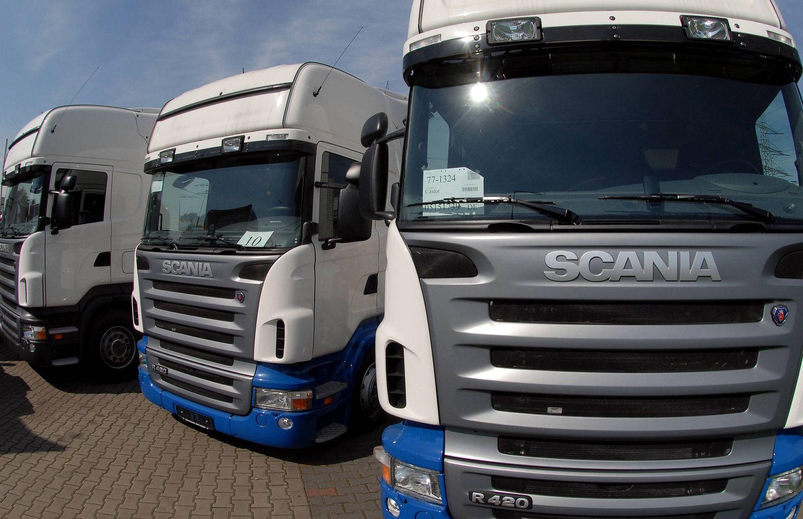 NICHT VERWENDEN Scania / LKW