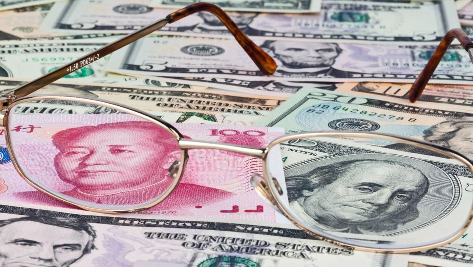 Erstmals seit 2008 kostet ein Dollar wieder mehr als sieben Yuan.