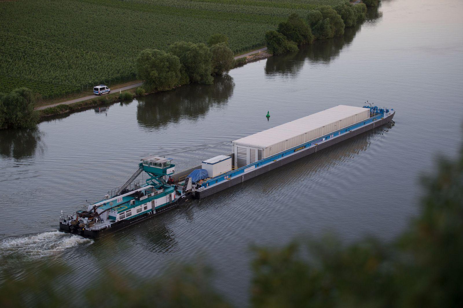 Transportschiff für Castor-Behälter