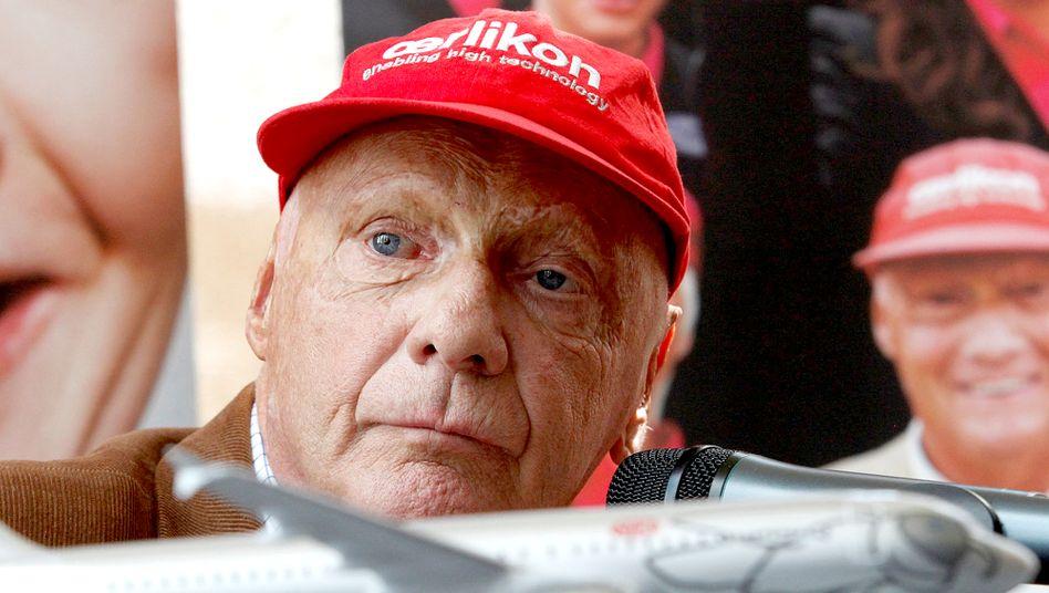 Niki Lauda: Schnell unterwegs