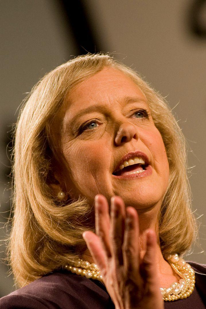 Führt das zweitgrößte Tech-Unternehmen der Welt: Meg Whitman