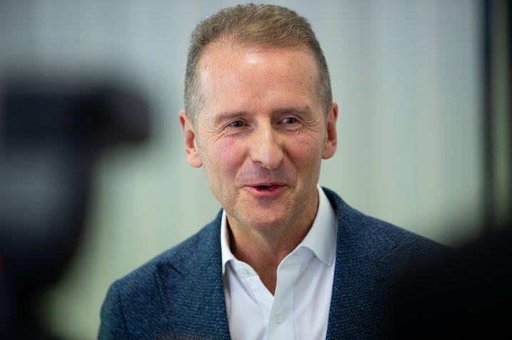 Herbert Diess: Der VW-Boss drückt aufs Gaspedal