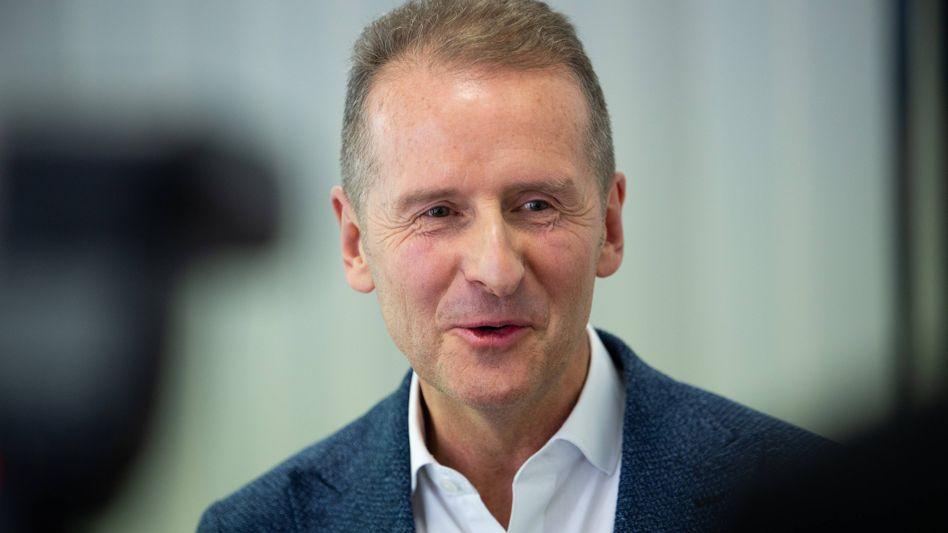 Will Volkswagen zum Tech-Riesen ummodeln: Konzernchef Herbert Diess