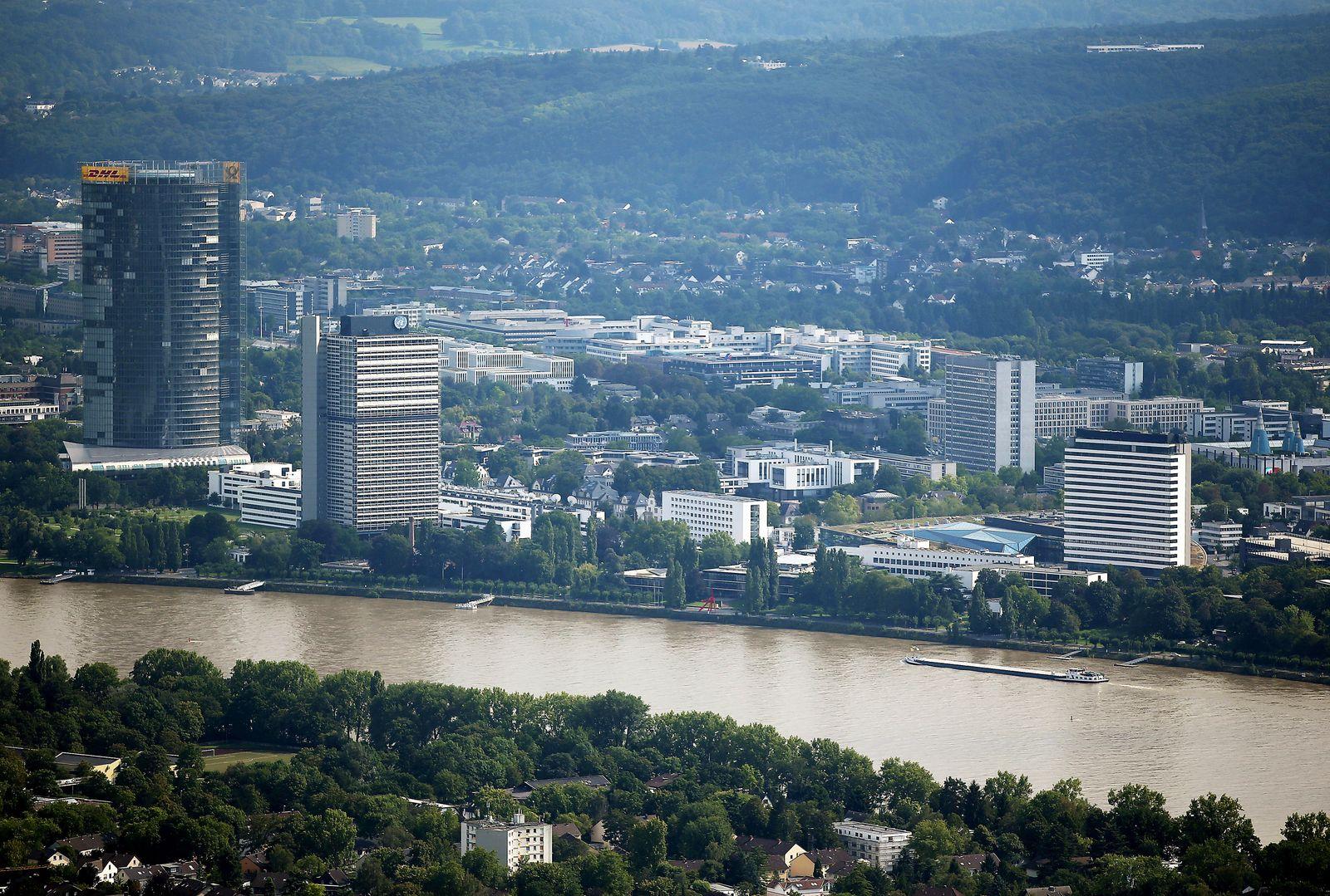 Bonn Regierungsviertel / Stadtansicht