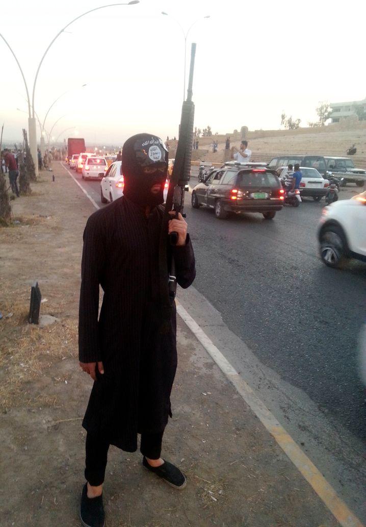 """IS-Kämpfer im Irak: Angriff auf die """"Hauptstadt der Unzucht und Laster"""""""