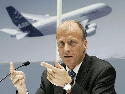 Thomas Enders: Der Co-Chef der Airbus-Mutter EADS war von Streiffs Verhalten wenig begeistert