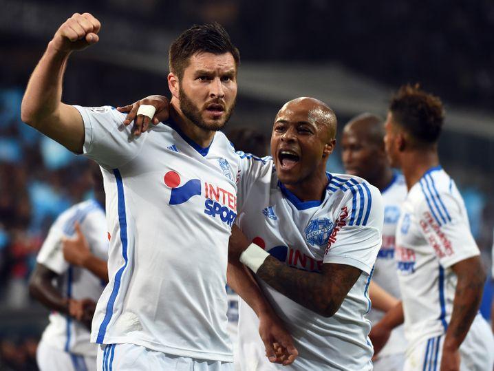 """Intersport auf der Brust von Olympique Marseille: """"Die Partnerschaft hat der Marke Intersport Glaubwürdigkeit und Bekanntheit verliehen."""""""