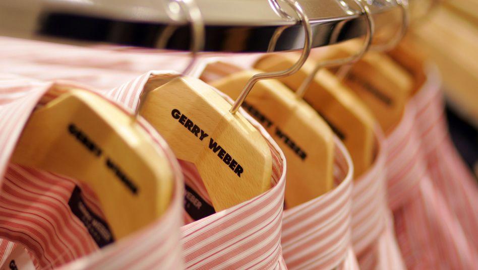 Hemden der Modefirma Gerry Weber