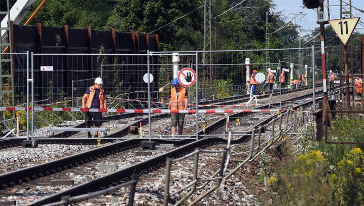 Rheintalbahn und andere Blockaden: Hier staut sich die deutsche Wirtschaft