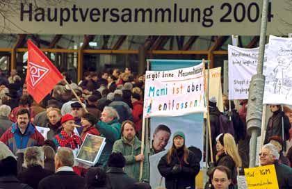Es geht um Hightechjobs: Protest gegen Arbeitsplatzabbau bei Siemens