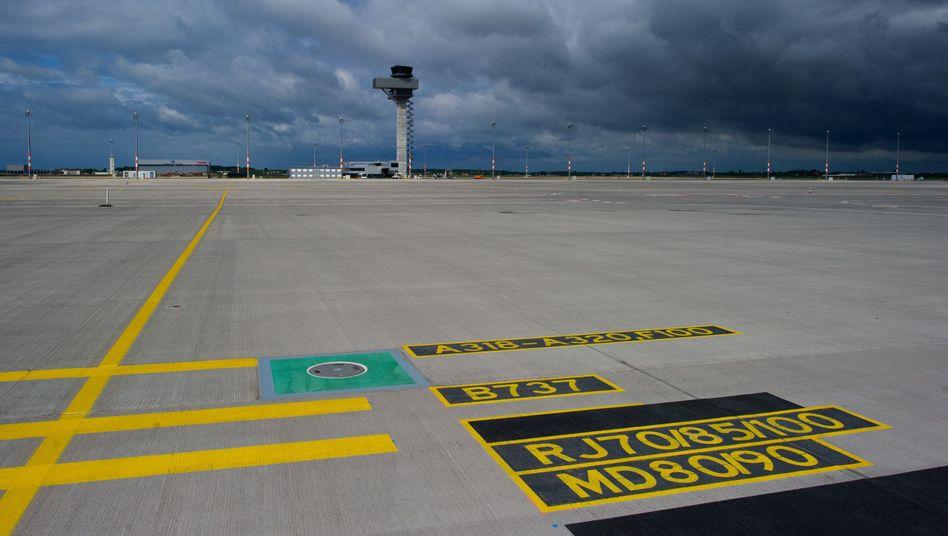 Gähnende Leere: Die Probleme beim Flughafen Berlin nehmen kein Ende