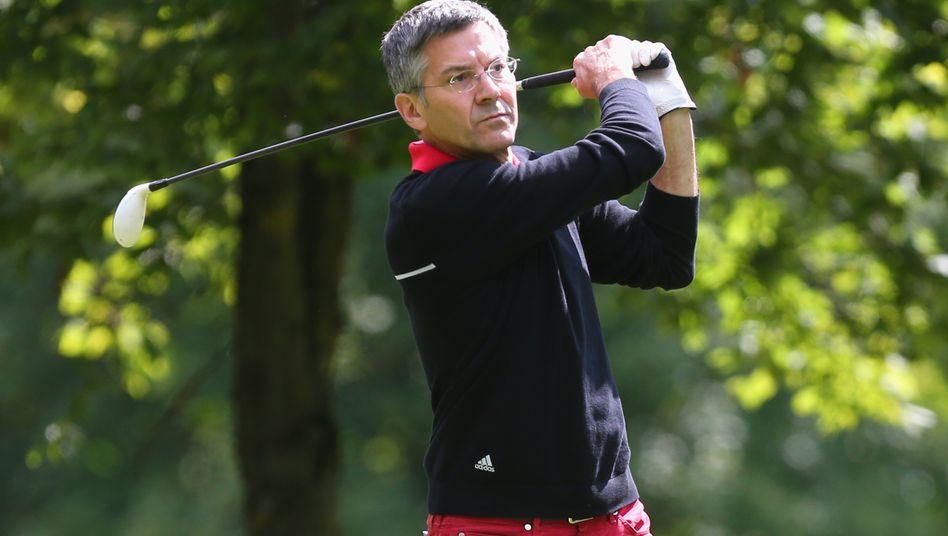 Will das Golfgeschäft komplett umkrempeln, schließt aber auch die Trennung von Golfmarken nicht aus: Adidas-Chef Herbert Hainer