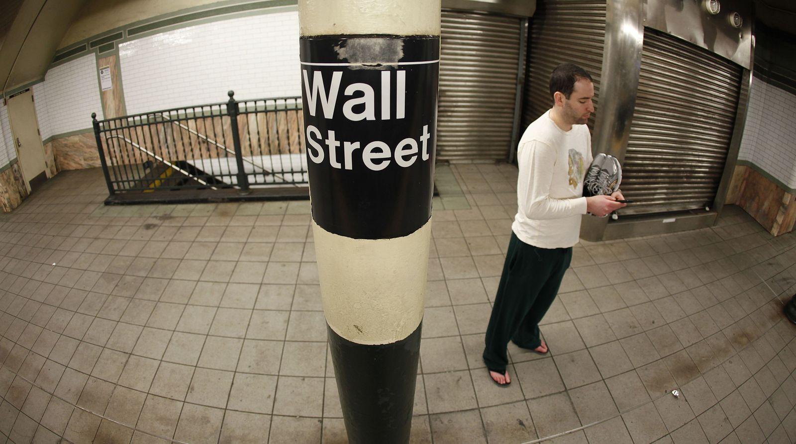 USA Hurrikan Wall Street