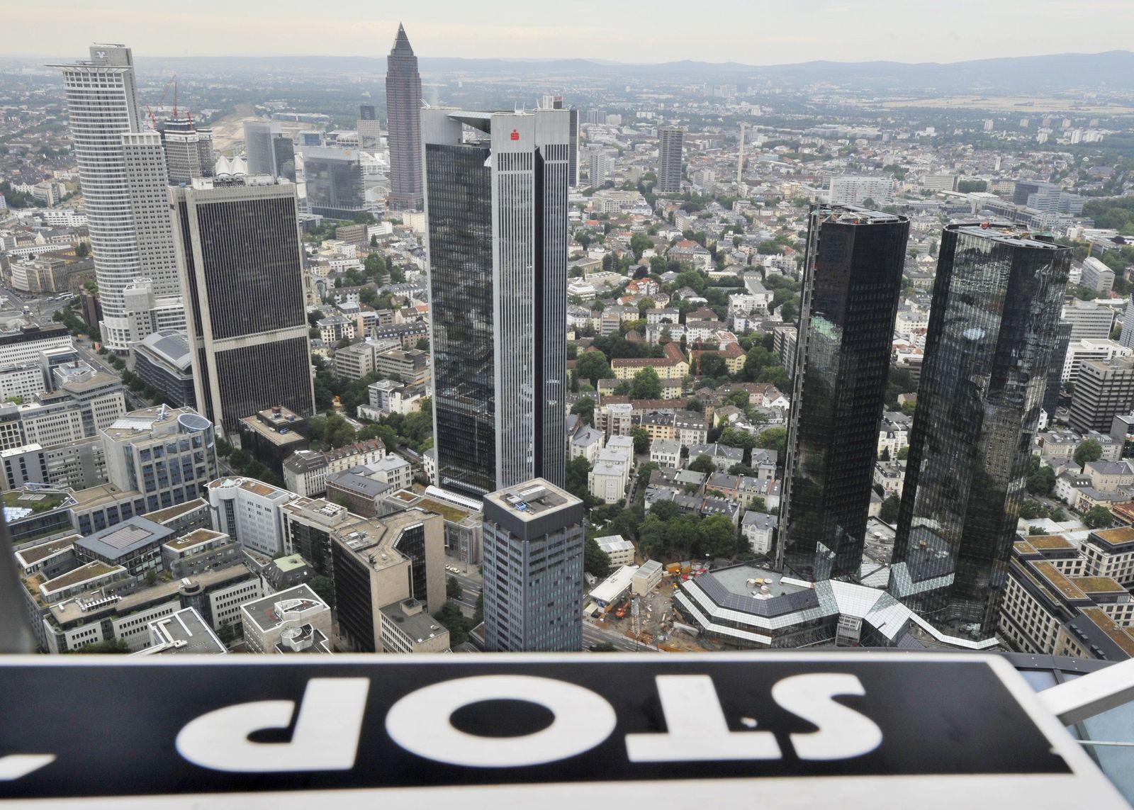 Skyline Frankfurt / Banken (Kopie)