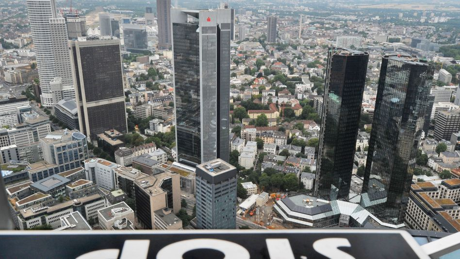 Bankenskyline in Frankfurt am Main: Neue Furcht vor EZB-Stresstest