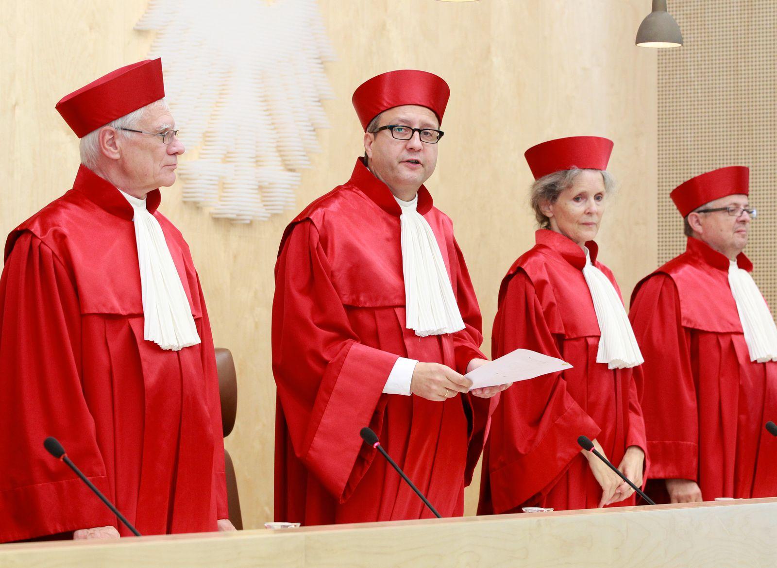 NICHT VERWENDEN Bundesverfassungsgericht / Urteil zum Wahlrecht