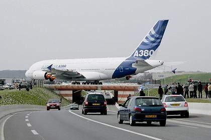 Rolltests abgeschlossen: Der A380 ist präpariert für den Erstflug