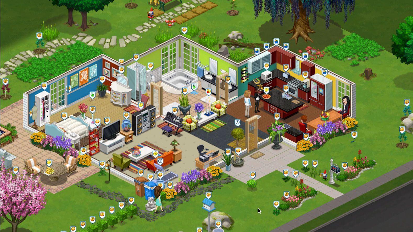 Zynga/ The Ville/ Screenshot