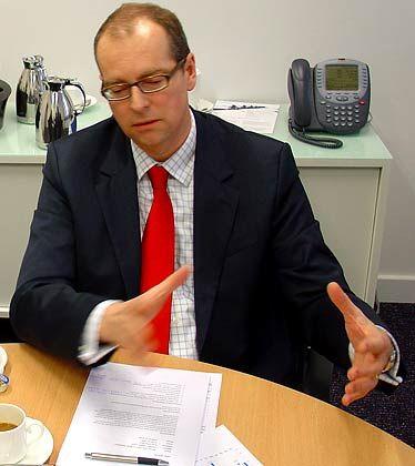 Der Mann für die passive Anlage: Dirk Klee ist Vorstandsvorsitzender der Barclays Global Investors