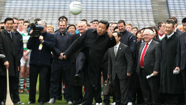 Fußball in China: So arbeitet Peking am ersten WM-Titel