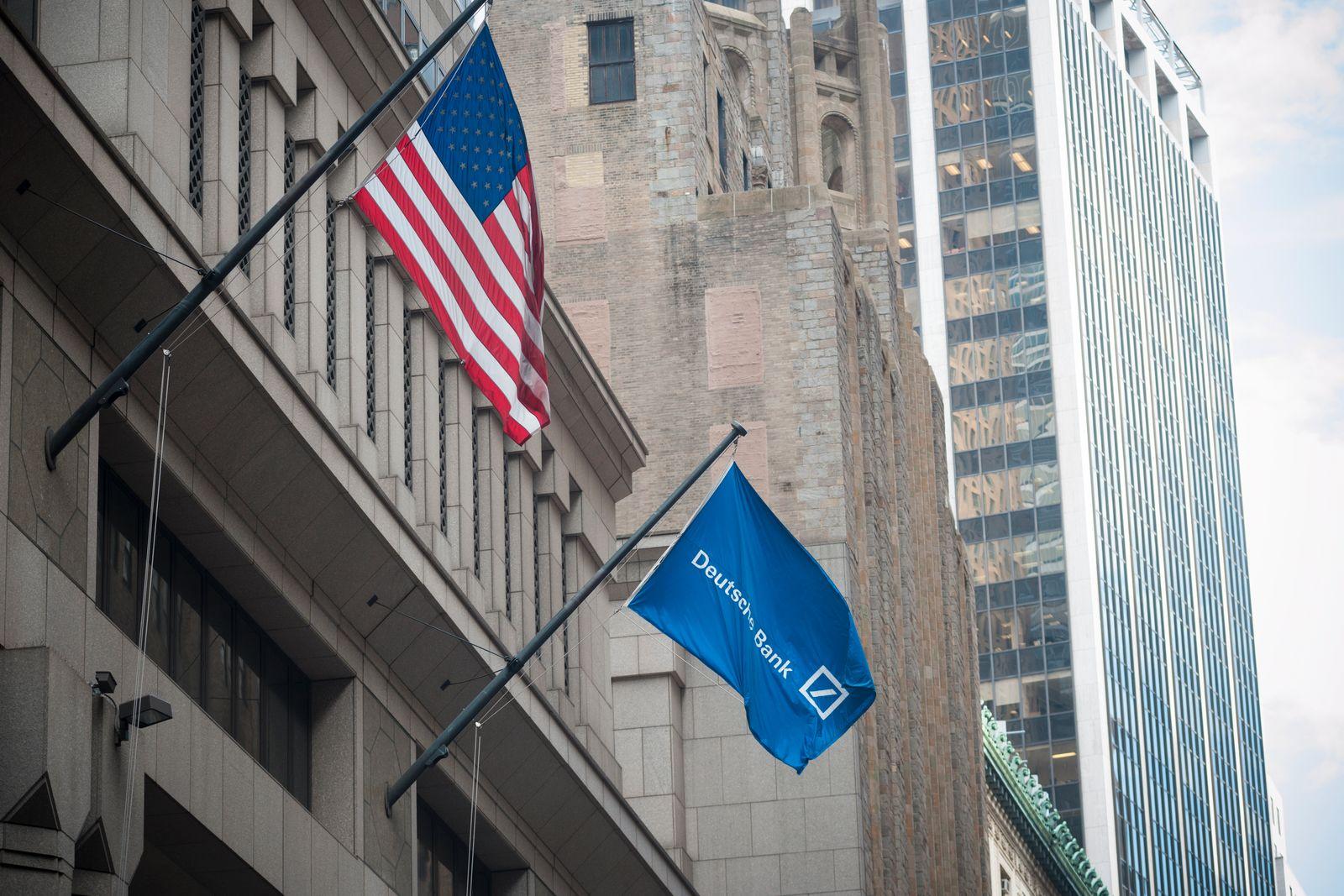 EINMALIGE VERWENDUNG Deutsche Bank Wall Street