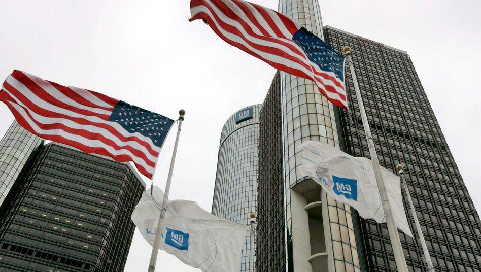 Flagge zeigen: Die US-Regierung will ihr Engagement bei GM zurückfahren