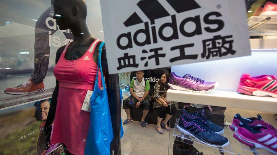 Adidas macht in China wieder mehr Geschäft