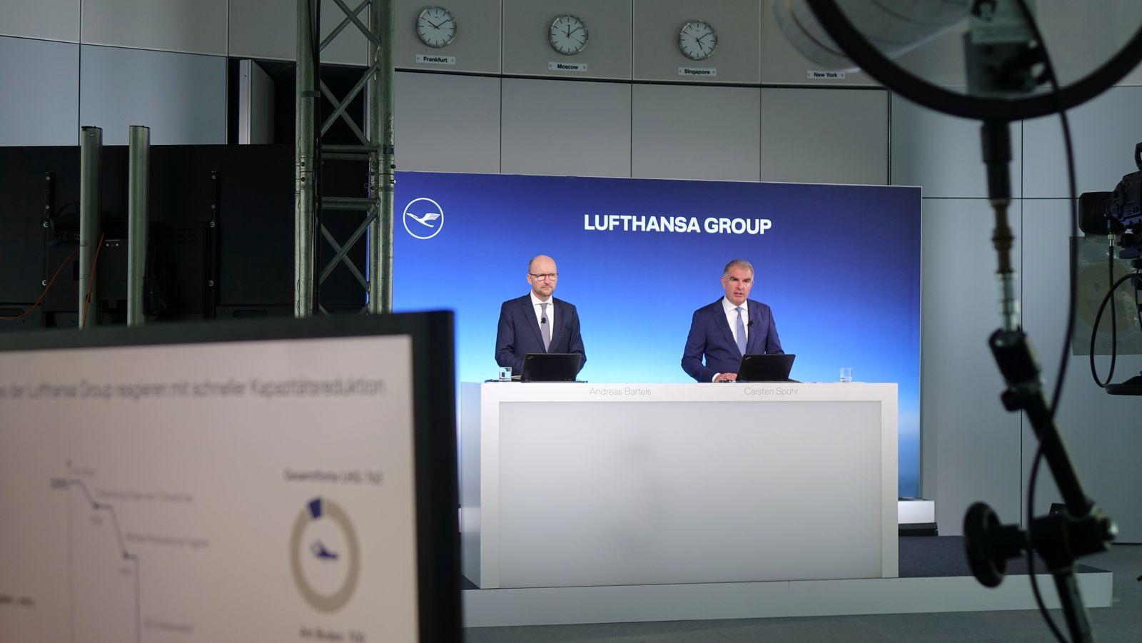 Lufthansa Pressekonferenz