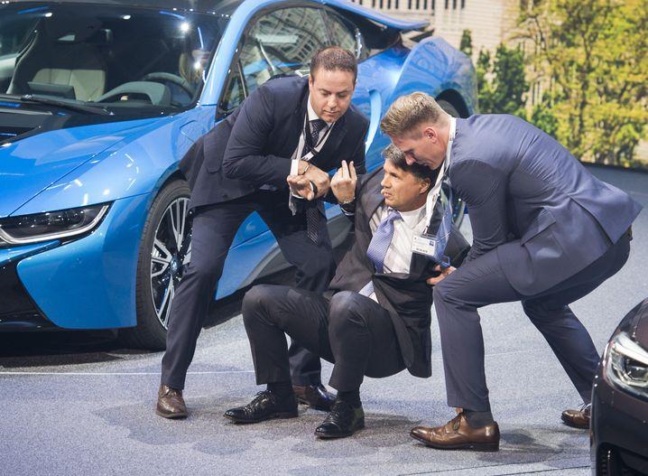 Zusammenbruch vor laufender Kamera: Der Super-GAU für einen Auto-CEO