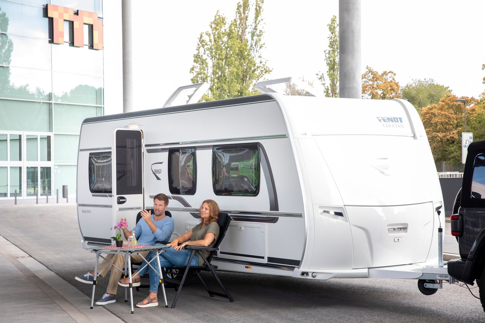 Fendt / Bianco Selection 515 SG / Wohnwagen